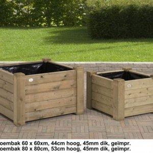 Plantenbakken  FSC Keurmerk Komo Keurmerk -