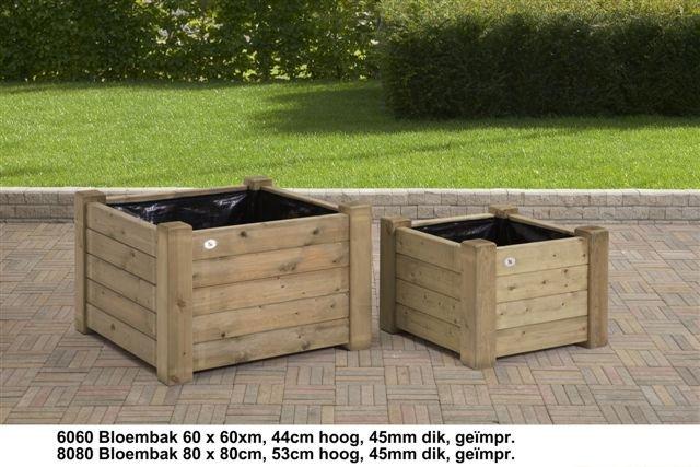 Plantenbakken en bloembakken Compostbakken