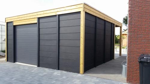 Betonbox Betongarage Compleet -