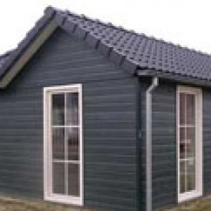 Recreatie woning in L model -