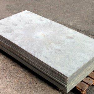 Beschoeiing Kunststof grijs Onderhoudsvrij 25 mm dik! -