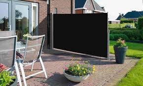 Windscherm uitschuifbaar tot 300 x 160 antraciet beige € 179,- -