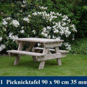 Houten Kinder Picknicktafel Tuinmeubelen FSC keurmerk  -