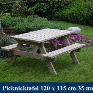 Houten kinder picknicktafel Tuinmeubelen FSC KOMO KEUR -