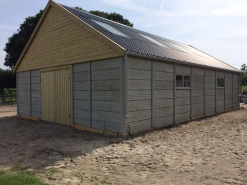 Systeembouw garage dubbele uitvoering  -