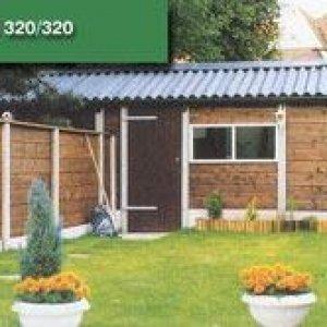 Beton hout systeembouw combinatie -