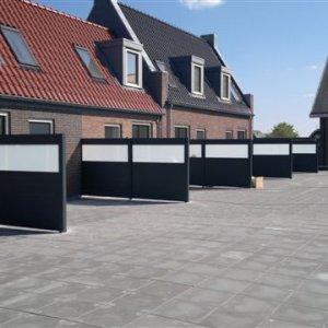 Aluminium terrasscherm -