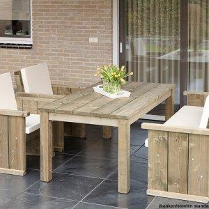 tuinmeubelen tuinbanken picknicktafels -