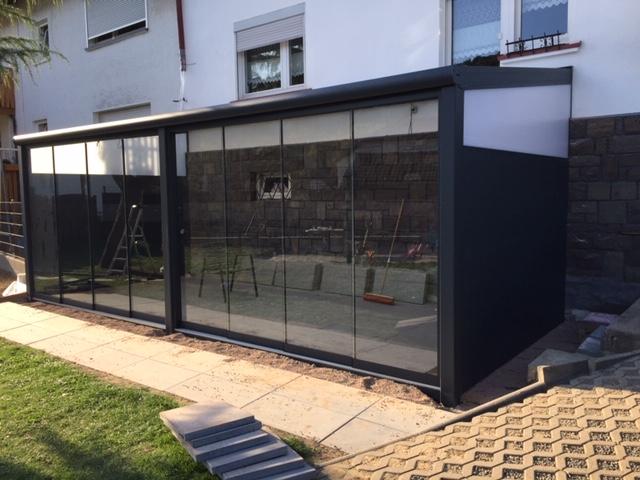 Glazen schuifwanden voor overkappingen 2021