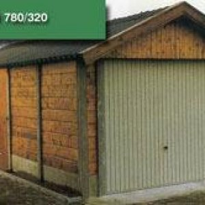 Beton Hout Combinatie garage -