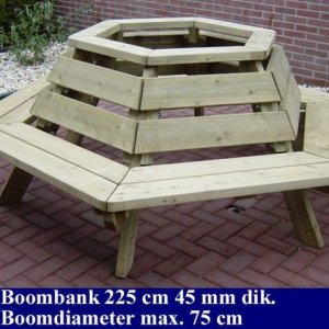 Tuinmeubelen Tuinmeubilair FSC Keurmerk Boombank Tuinmeubels -