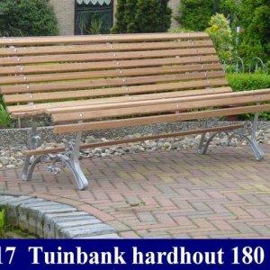 Hardhouten tuinbank blank Tuinmeubelen 17 -
